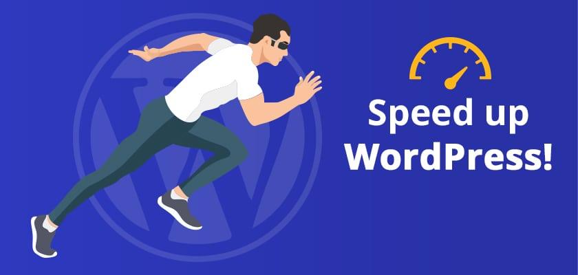 سرعت در وردپرس - طراحی سایت با وردپرس