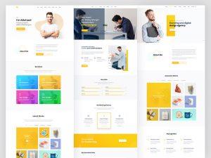 طراحی و شخصی سازی سایت وردپرسی -خدمات طراحی وب سایت وردپرس با فارسینو