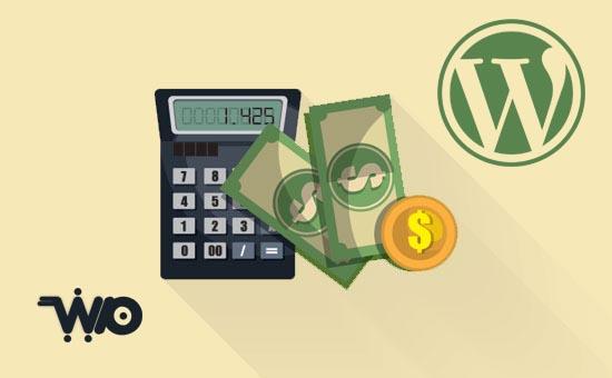 محاسبه آنلاین هزینه یا تعرفه طراحی سایت وردپرس