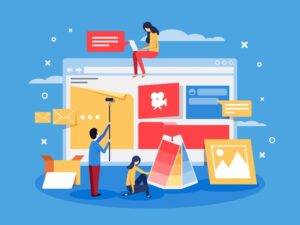 طراحی سایت اینترنتی با انواع سیستم مدیریت محتوا